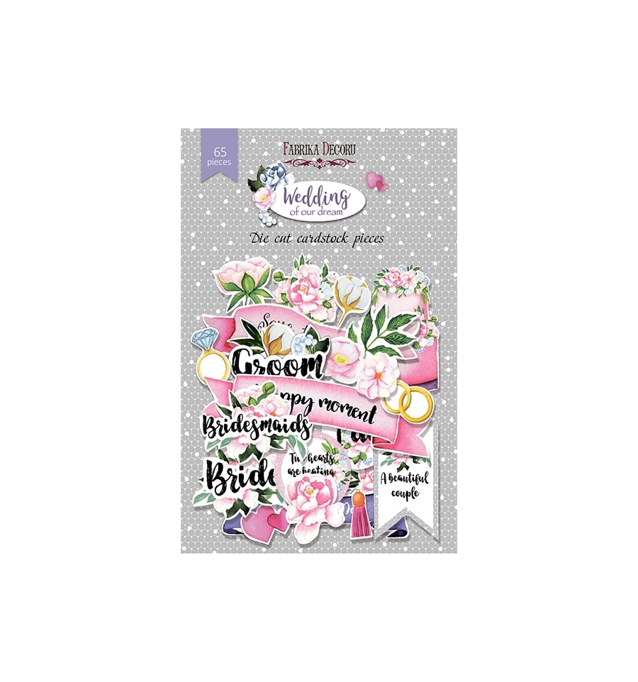 Die Cuts Fabrika Decoru Wedding of our Dream