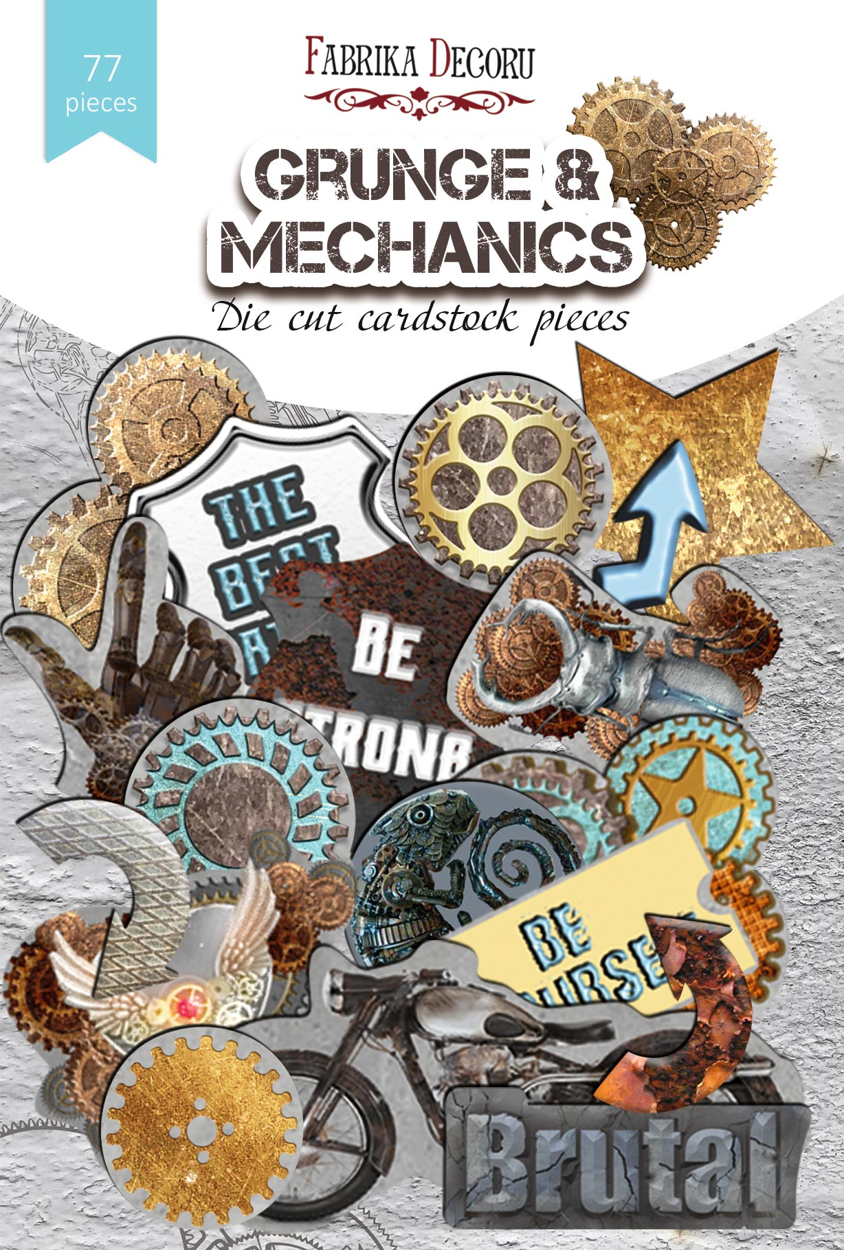 Die Cuts Fabrika Decoru Grunge & Mechanics